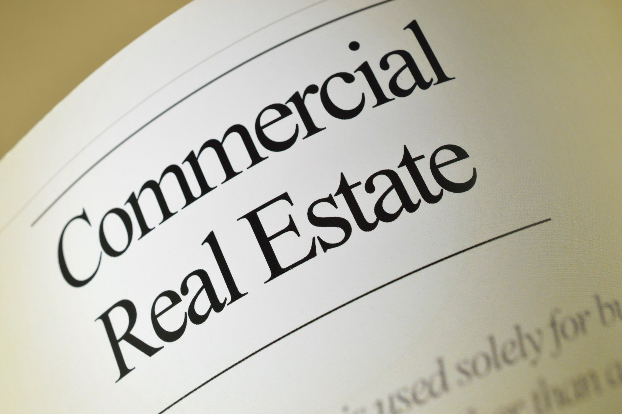 sell commercial real estate